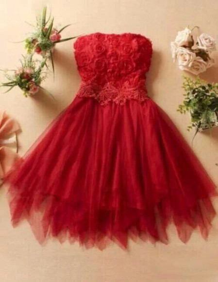 dress red dress cute dress prom dress clothing