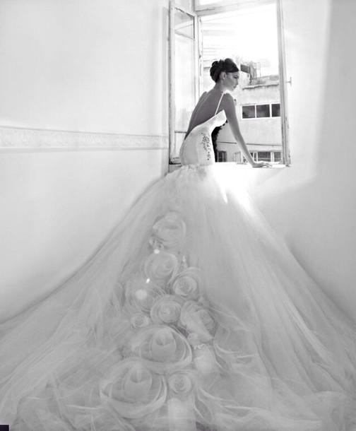 dress white dress wedding dress wedding clothes european style