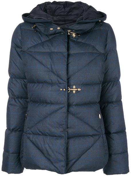 FAY jacket women geometric blue