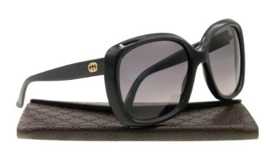 Amazon.com: Gucci GG3612/S Sunglasses-0807 Black (EU Gray Gradient Lens)-57mm: Gucci: Shoes