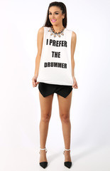 I PREFER THE DRUMMER TANK on The Hunt