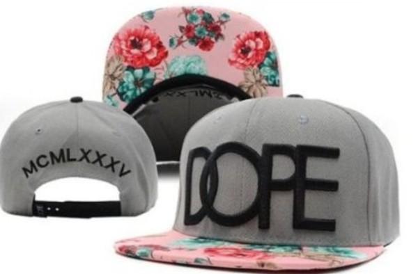 hat floral snapback