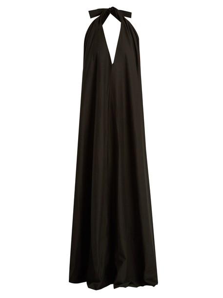KALITA dress maxi dress maxi cotton black