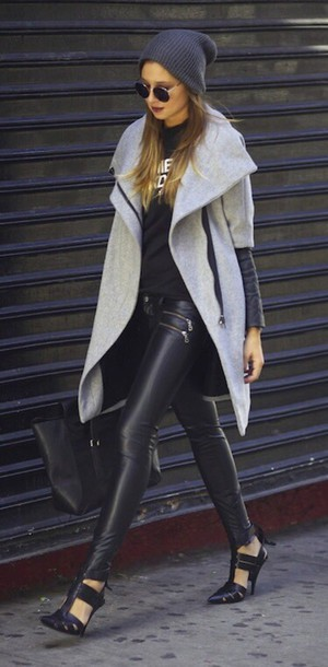 coat oversized jacket wool jacket jacket jeans