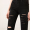 Bershka gilette cut skinny jeans - jeans - bershka united kingdom