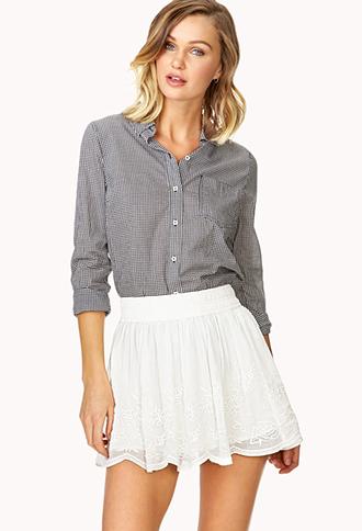 Prairie Gauze Skirt | FOREVER21 - 2000088418