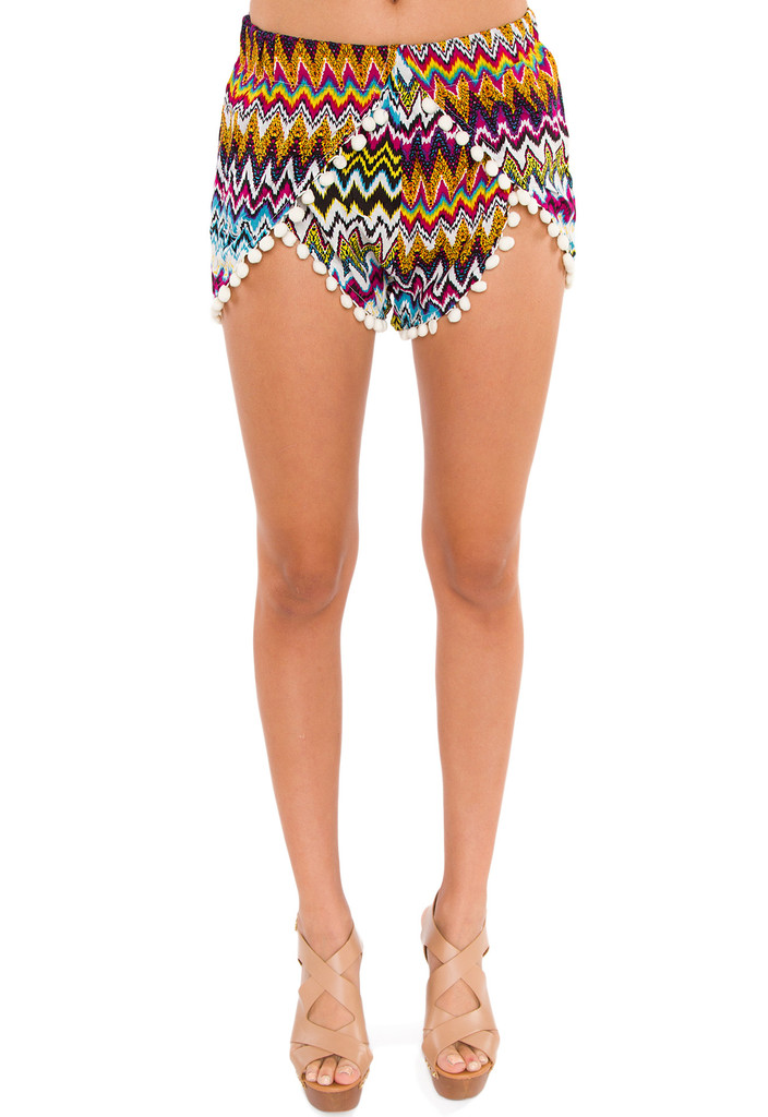 Papparazzi Pom Pom Shorts