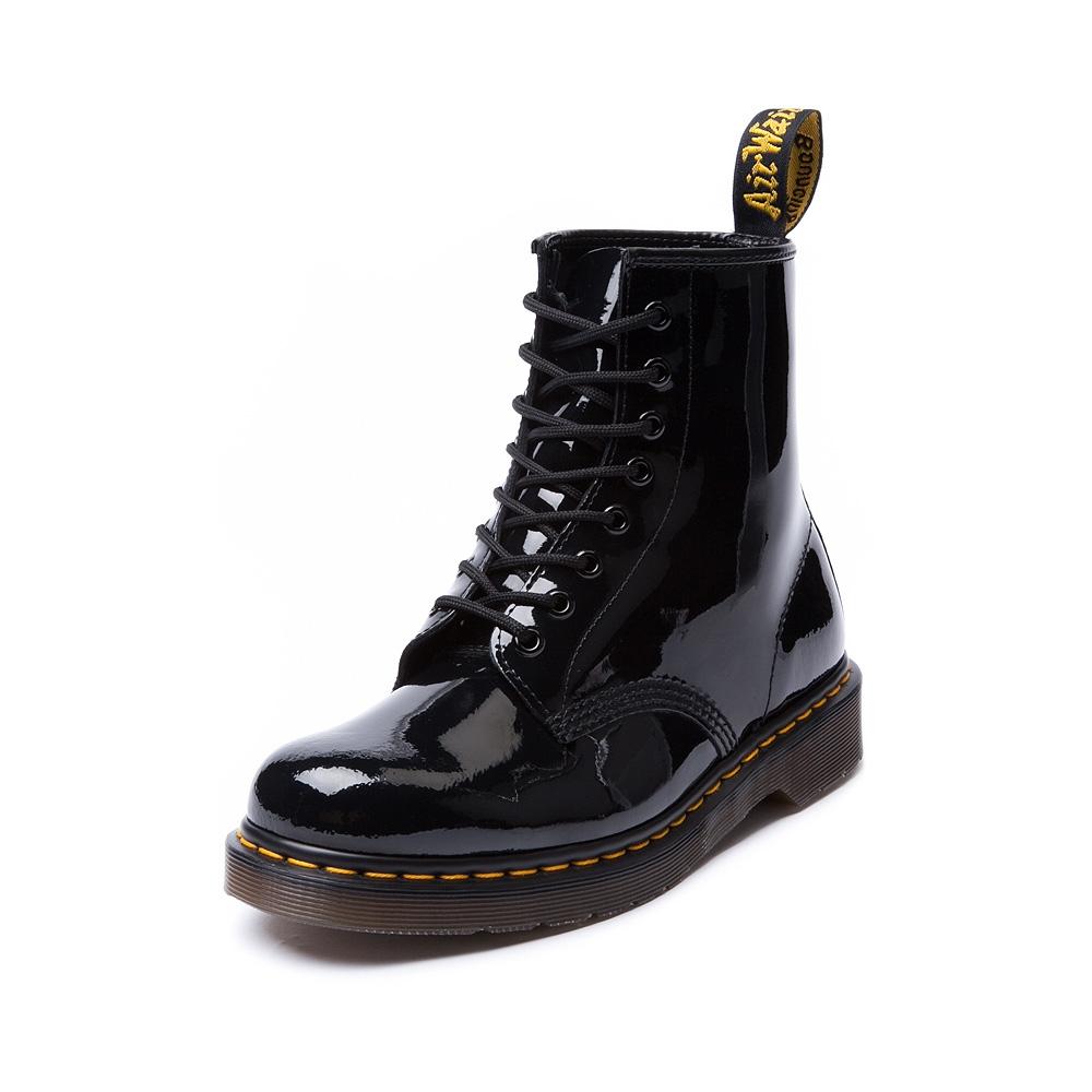 mens dr martens patent black journeys shoes