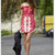 Red Day Dress - Bqueen Ruxandra Ioana In Lace   UsTrendy