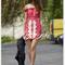 Red day dress - bqueen ruxandra ioana in lace | ustrendy