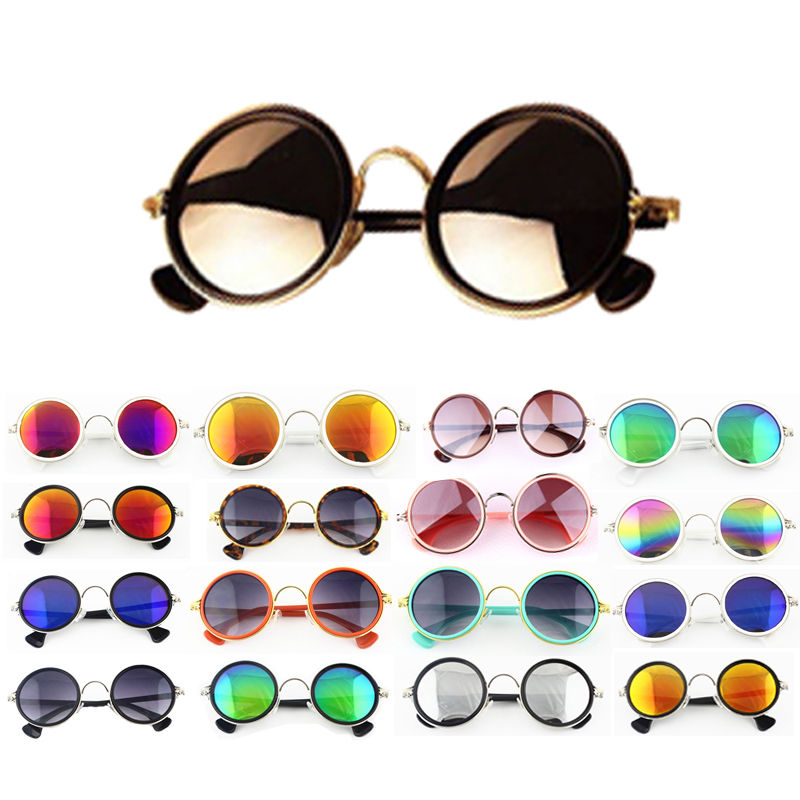 Classic Fashion Round Vintage Retro Style Classical Metal Frames Sunglasses New