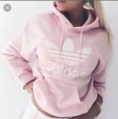 sweater,adidas,pink