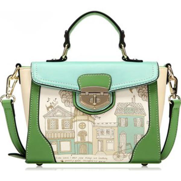 bag floral print handbag