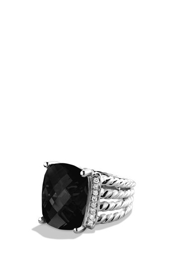 David Yurman 'Wheaton' Ring with Semiprecious Stone & Diamonds | Nordstrom