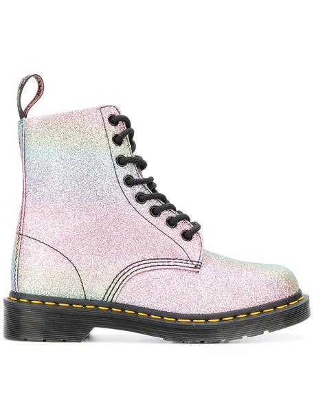 Dr. Martens glitter women boots shoes