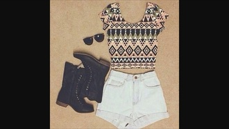 shirt aztec