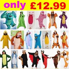 Fleece Christmas All In One Onesie Pyjamas Cosplay Costume Animal Onsie Romper | eBay