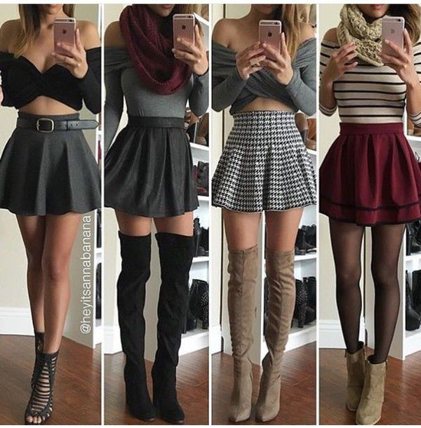 377e01919af4 dress skirt burgundy cute outfit where can i get this outfit skater skirt  crop tops mini