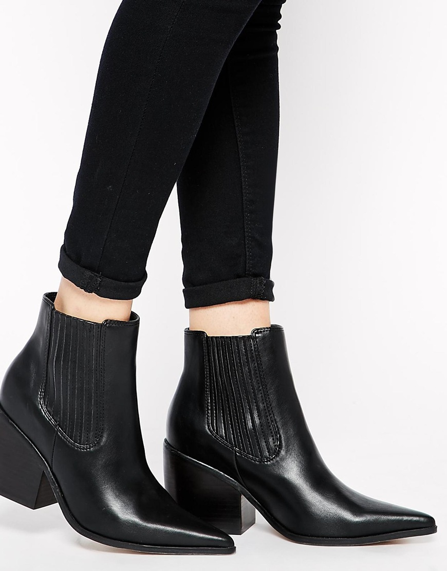 ASOS EPIDEMIC Ankle Boots at asos.com