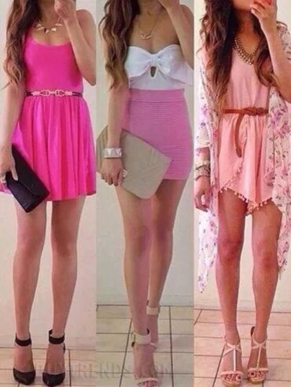dress pink dress pink pastel dresses summer dress pink floral kimono