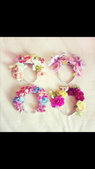 accessories floral hair accessories