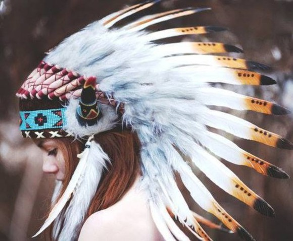 beautiful hat headband wings