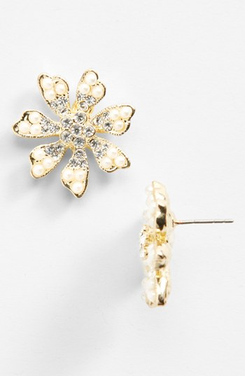 Nina 'Hydee' Flower Stud Earrings | Nordstrom