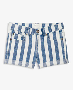 BLUE AND WHITE STRIPED SHORTS on The Hunt