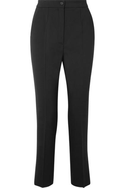 Dolce & Gabbana pants black wool