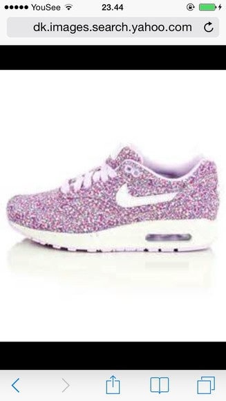 shoes nike floral nikeairmax liberty purle