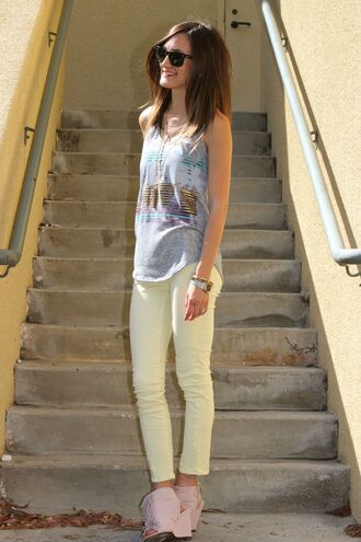 frankie hearts fashion t-shirt jeans shoes jewels sunglasses