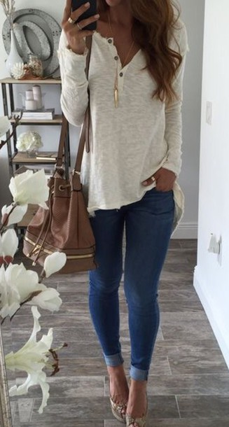 top blouse cotton long sleeve top soft button down shirt shirt white sheer casual chic long sleeves buttons sweater pull