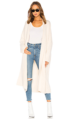 Tularosa Ribbed Cardigan in Cream from Revolve.com