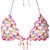 Sagittarius bikini top - women - Polyamide/Spandex/Elastane - S, White, Polyamide/Spandex/Elastane, Mc2 Saint Barth