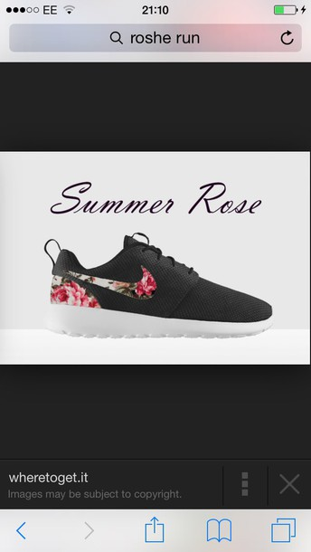 shoes rose roshe runs