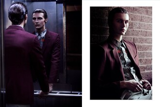 jacket dress lanvin red jacket model blogger luxury lvr diary menswear mens blazer