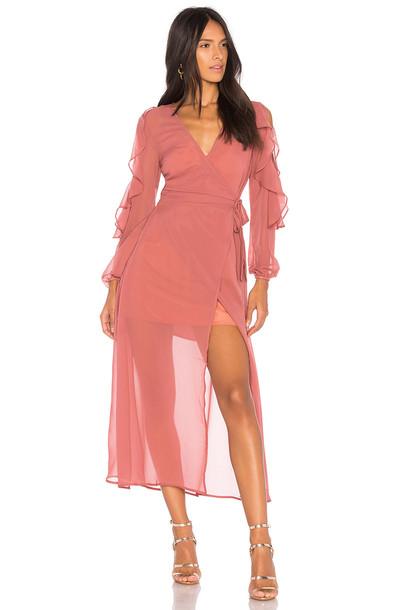 tHE FIFTH LABEL dress maxi dress maxi rose