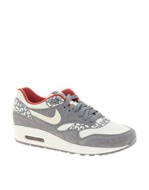 Nike | Nike - Air Max 1 ND - Baskets - Léopard gris chez ASOS