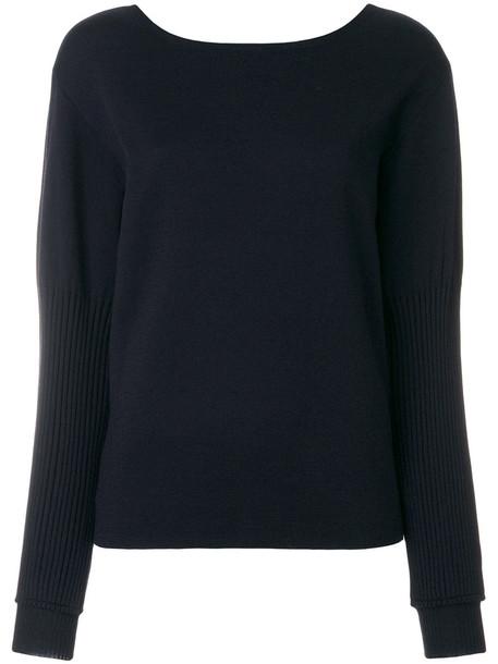Dorothee Schumacher jumper women spandex blue silk wool sweater