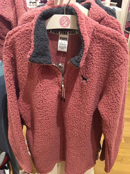 Jacket: victoria's secret, victoria secret sweater, pink, pink by ...