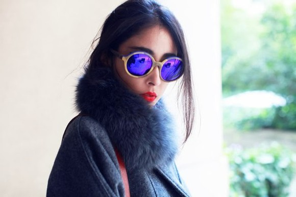 chic muse sunglasses coat