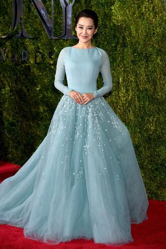 dress gown prom dress wedding dress nicole warne tony awards