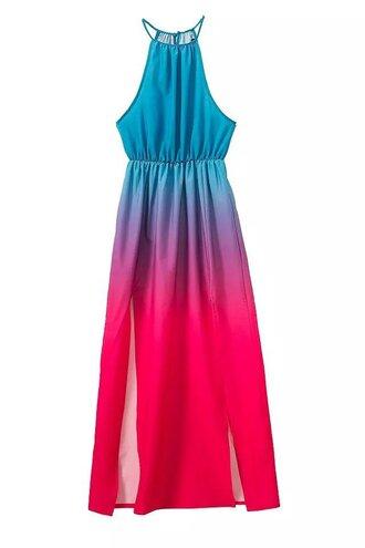 dress summer dress bohemian dress beach dress ombre