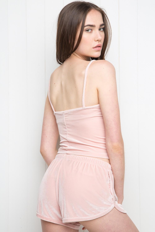 Brandy u2665 Melville   Lisette Velvet Shorts - Silk u0026 Velvet Pieces - Clothing