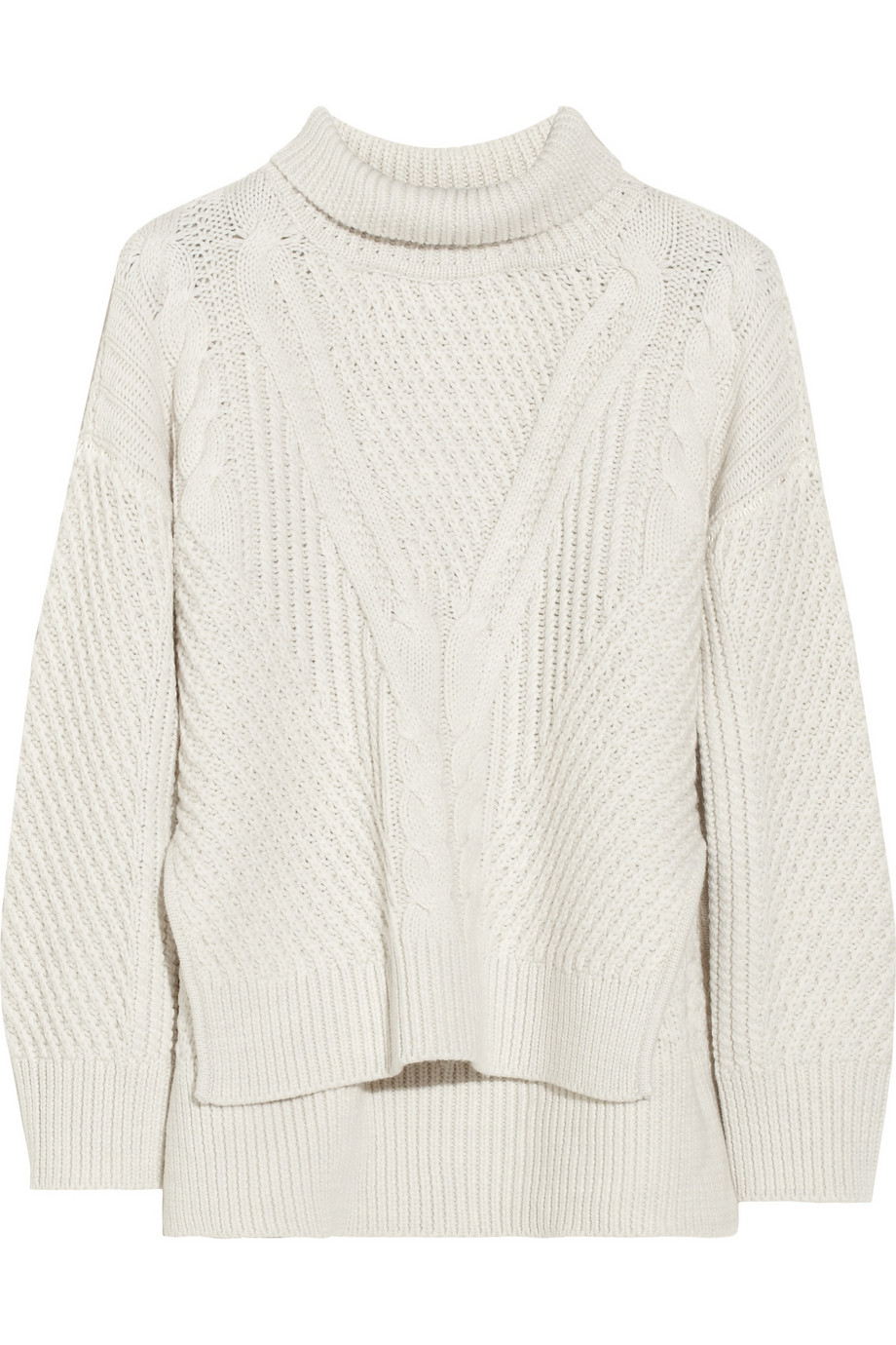 Cable-knit wool turtleneck sweater | Duffy | 50% off | THE OUTNET