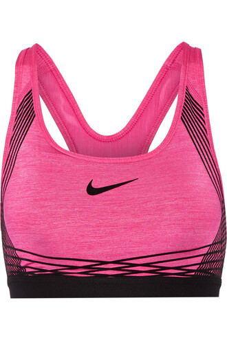 bra sports bra mesh classic pink underwear