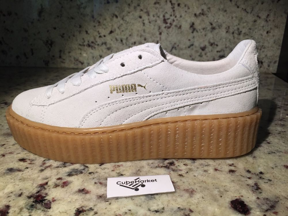 puma by rihanna suede creepers. Black Bedroom Furniture Sets. Home Design Ideas