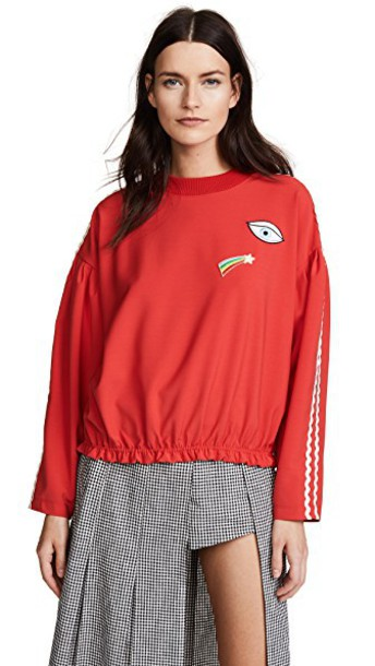 VIVETTA pullover red sweater