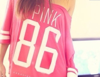 sweater pink overzised loose fit sweater