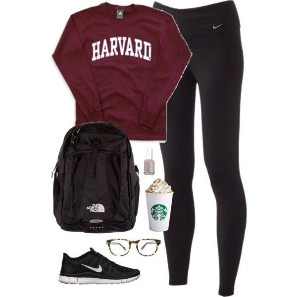 shirt sweatshirt burgundy harvard bag pants
